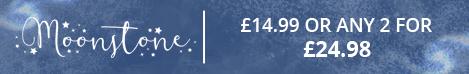 £14.99 Moonstone dies 2 for £24.98