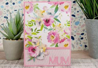 How to Make a Floral Mother's Day Card