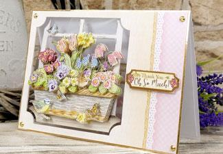 How to Make a Beautiful Thank You Card for Mother's Day