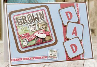 How to Make a Just For You Dad Card