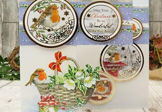 How to Make a Beautiful Christmas Card with Our Little Red Robin Collection
