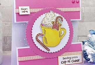 How to Make a Cup of Cheer Card