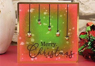 How to Make a Quick and Easy Christmas Card