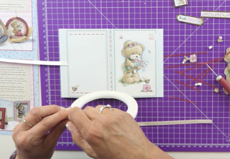 Video: How To Make A Teddy Loves Decoupage Book Card