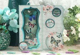Video: Teal Treasures Bookmark Cards