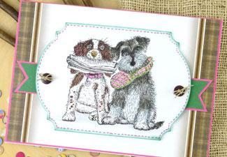 Create Cards with our Cat & Dog Stamp Sets!