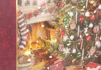 How to Make a Christmas Tree Box Frame