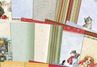 3 Free Christmas Paper Collections to Download