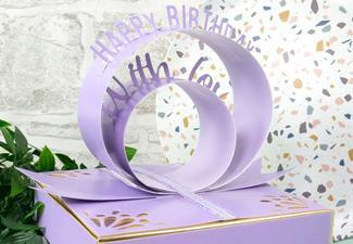 How to Make a Beautiful Birthday Box