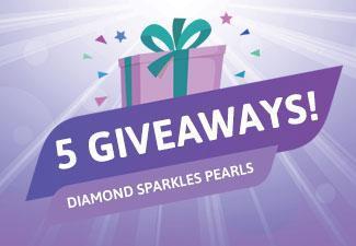 Win Diamond Sparkles Pearls