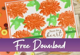 Download the Layering Flowers Stamping Guide