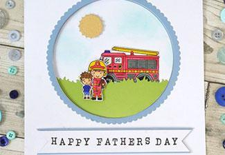How to Make a Fireman Card for Father's Day