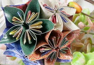 How to Make Your Own Origami Kusudama Christmas Bauble