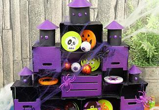 How to Make a Haunted House Treat Holder