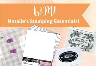 Win Natalie's Stamping Essentials
