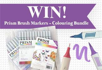 Win A Prism Brush Markers Goodies!