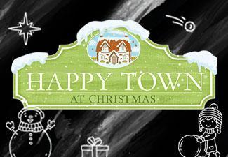 Happy Town at Christmas Craft Creations