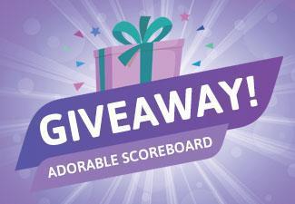 Win Adorable Scoreboard