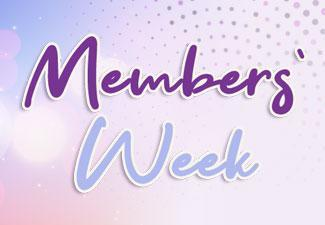 It's Members' Week at Hunkydory!