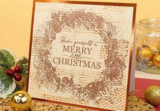 How to Make a Merry Little Christmas Card