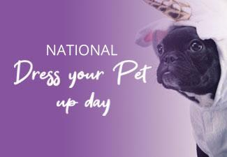 Celebrate National Dress Up Your Pet Day!