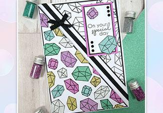 How to Create a Stunning Card with Our Diamond Sparkles