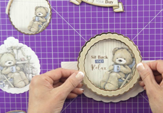 Video: How to make a Teddy Loves Rocker Reveal Concept Card