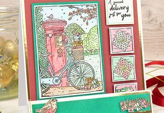 How to Make a Special Delivery Card With Our Winter Delights Stamps