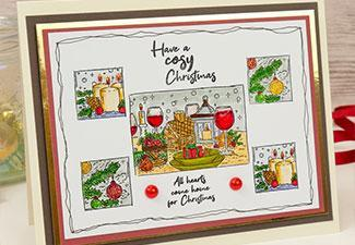 How to Make a Cosy Christmas Card with Our Winter Delights Stamps