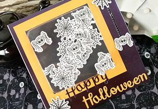 How to Make a Spooky Halloween Card