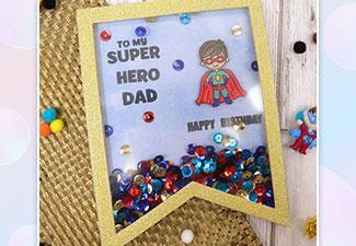 How to Make a Fun Sequined Card