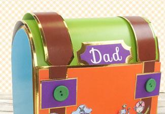 How to Make a Dad Treasure Chest