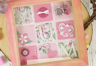 How to Make a Beautiful Mum Frame