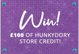 Win! £100 of Hunkydory Store Credit to spend on our new website!