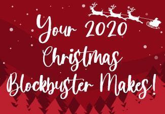 Your 2020 Christmas Blockbuster Creations