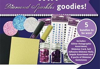 Win Diamond Sparkles Goodies!