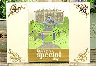 How to Make a Beautiful Card Using our Set the Scene Happy Places Moonstone Dies