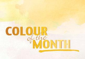 October's Colour of the Month: Ochre
