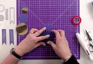 How to Make a Rosette With the Winner's Rosette Moonstone Die
