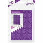 A6 3D Embossing Folder - Decorative Foliage