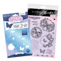 All of a Flutter - Aperture Stamp and  Die Bundle
