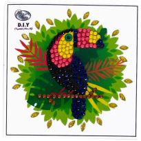 Crystal Art Motif Kit - Toucan