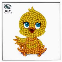 Crystal Art Motif Kit - Cutie Chick