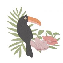 Sizzix Thinlits Die - Tropical Bird by Sophie Guilar