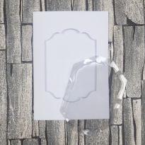 Dimensional Card Kit - Fancy Label