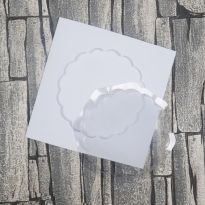 Dimensional Card Kit - Scalloped Circle