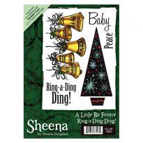 Sheena A6 Xmas Stamp - Ring-a-Ding-Ding!