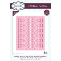 Filigree Artistry Collection Scalloped Border x 3 dies