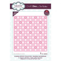 Filigree Artistry Collection Diagonal Background x 1 die