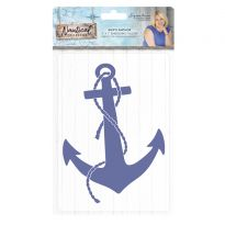 Nautical - 5x7 Embossing Folder - Ship's Anchor
